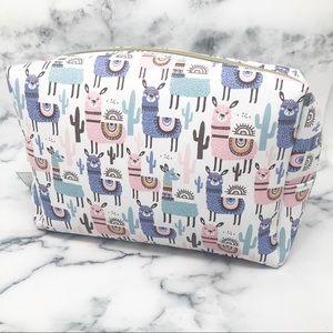 Llama Cosmetic Bag